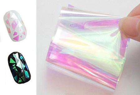 Nail Art summer nagelset nu slechts €5,95 | 5x nagelpennen, nagelstickers, nagelfolie en decoratiesteentjes Nagelfolie