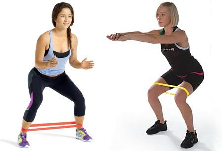 Fitness weerstandbanden set van 4 stuks nu slechts €9,95 | Eenvoudig trainen vanuit huis!