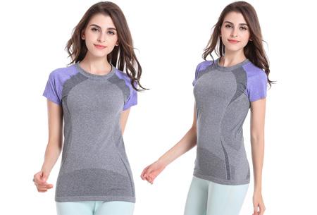 Quick Dry sport shirt nu slechts €10,95 | Sneldrogend en ventilerend! Paars