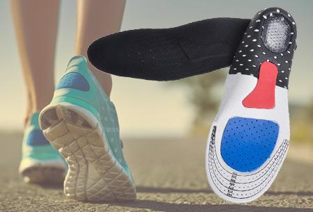 Orthopedische inlegzolen 2 paar nu slechts €7,95 | Helpt bij voet- en beenklachten