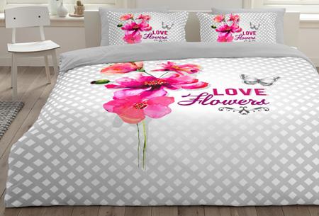 6 nieuwe designs dekbedovertrekken van 100% zacht katoen. Nu al vanaf slechts €9,99! #2 Soft flowers