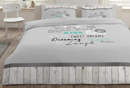 6 nieuwe designs dekbedovertrekken van 100% zacht katoen. Nu al vanaf slechts €9,99! #3 Goodnight Wishes