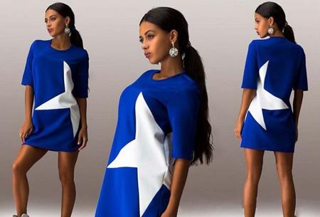 Star tuniek nu slechts €12,95 | Stoer, sportief en fashionable! donkerblauw