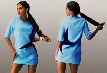 Star tuniek nu slechts €12,95 | Stoer, sportief en fashionable! lichtblauw
