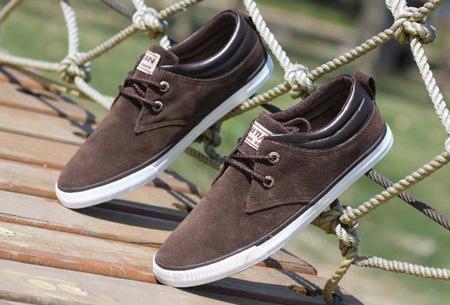 Comfortabele herenschoenen nu slechts €27,95 | De ideale schoen voor zomer en voorjaar!  Donkerbruin
