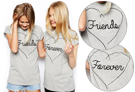 Friends Forever shirts nu slechts €13,95 p.s.!