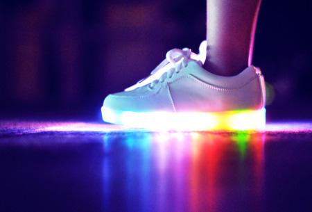 LED schoenen | Maat 42 Wit OP=OP