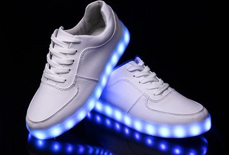 Led Licht Schoenen : Led schoenen mt wit