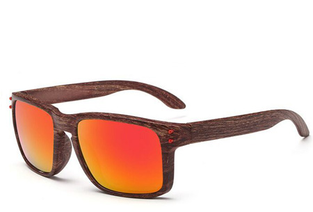 Wooden look zonnebrillen nu slechts €4,95 | Bescherm je ogen in stijl Model #3