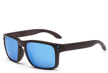 Wooden look zonnebrillen nu slechts €4,95 | Bescherm je ogen in stijl Model #4