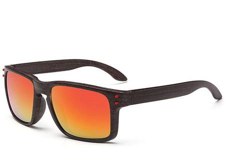 Wooden look zonnebrillen nu slechts €4,95 | Bescherm je ogen in stijl Model #6