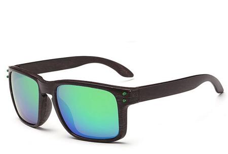 Wooden look zonnebrillen nu slechts €4,95 | Bescherm je ogen in stijl Model #8