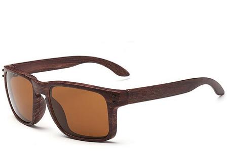 Wooden look zonnebrillen nu slechts €4,95 | Bescherm je ogen in stijl Model #9