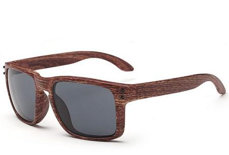 Wooden look zonnebrillen nu slechts €4,95 | Bescherm je ogen in stijl Model #10
