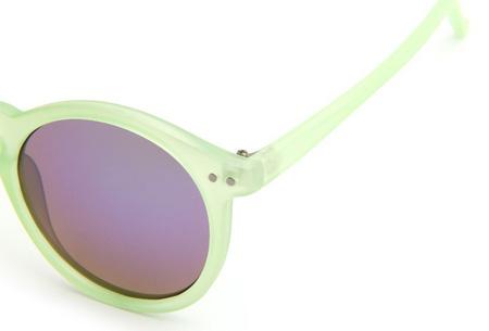 Vintage round zonnebril nu slechts €4,95 | Voor een klassieke retro look!
