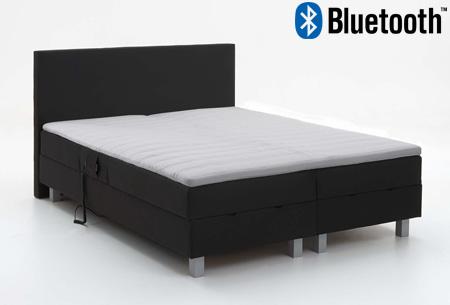 Basic Premium Boxspring of Premium Elektrische Boxspring met of zonder Bluetooth nu al vanaf €249,00 Bluetooth