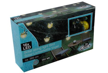 Solar LED buitenlampen nu slechts €13,95 | Geef je tuin extra sfeer! Vogel