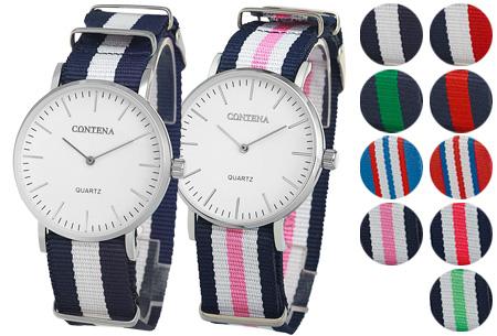 Contena horloge nu slechts €6,95 + diverse horlogebandjes voor €1,95!