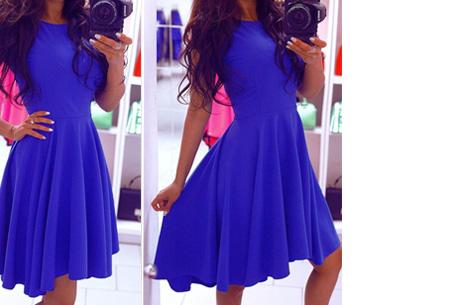 Classy jurk nu slechts €16,95 | Dress to impress! Blauw