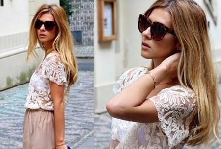 Kanten Bohemian shirt nu slechts €11,95 | Stijlvol, sexy & vrouwelijk!