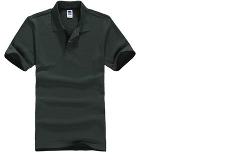 Duocolor heren polo nu slechts €12,95 | Voor de maten S t/m 3XL in 15 kleuren! #15 Donkergroen - zwart