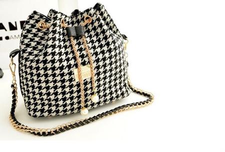 Cross-over handtas nu slechts €14,95 | Een ideale tas voor elke dag Zwart-Wit