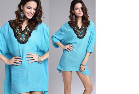 Ibiza tuniek nu slechts €12,95 | Keuze uit verschillende stijlen en kleuren! #B Turquoise