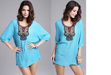 Ibiza tuniek nu slechts €12,95 | Keuze uit verschillende stijlen en kleuren! #G Turquoise