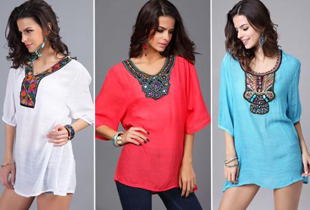 Ibiza tuniek nu slechts €12,95 | Keuze uit verschillende stijlen en kleuren!