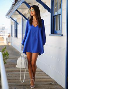 Ibiza jurkje | Zomers, stijlvol & sexy! donkerblauw