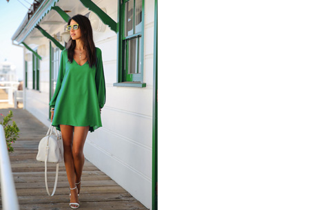 Ibiza jurkje | Zomers, stijlvol & sexy! donkergroen