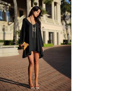 Ibiza jurkje | Zomers, stijlvol & sexy! zwart