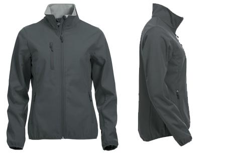 Clique Softshell jackets voor hem en haar nu slechts €34,95 | Beschermt je tegen weer en wind! Antraciet