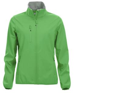 Clique Softshell jackets voor hem en haar nu slechts €34,95 | Beschermt je tegen weer en wind! Grasgroen