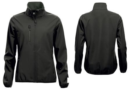 Clique Softshell jackets voor hem en haar nu slechts €34,95 | Beschermt je tegen weer en wind! Zwart