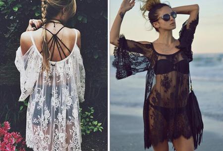 Lace Bohemian jurk nu slechts €9,95!