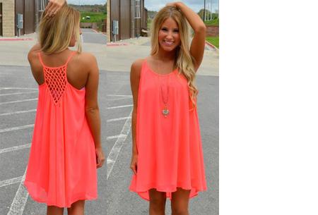 Colorful jurk | Steel de show met deze kleurrijke zomermusthave! watermeloen