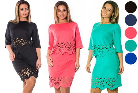 Cut-out rok en top nu slechts €17,95!
