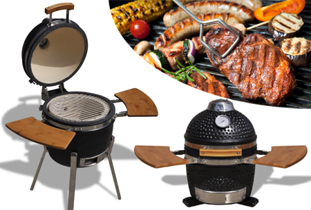 Kamado barbecue-grill-smoker