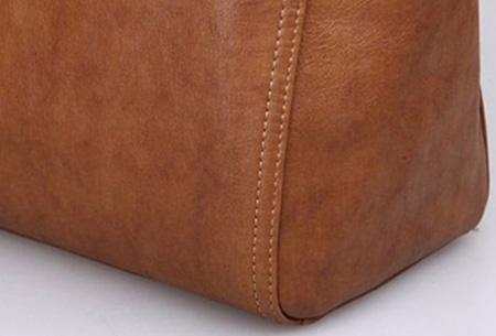 Lederen schoudertas voor dames | Stijlvolle tas - Ontworpen naar Italiaans design!