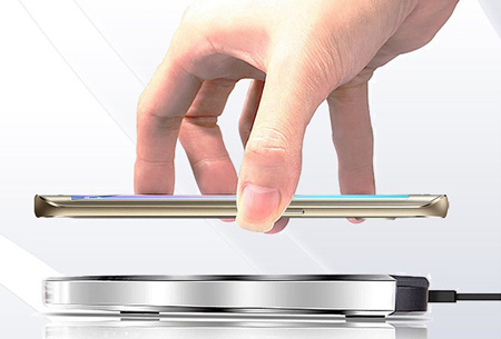 Universele draadloze Qi smartphone lader   Draadloos je telefoon opladen