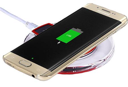 Universele draadloze Qi smartphone lader