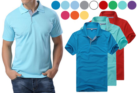 Casual heren polo nu slechts €11,95!