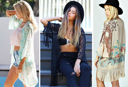 Kimono's in 9 mooie prints nu al vanaf slechts €9,95 | Het ideale zomervest!