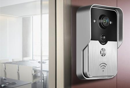 Draadloze smart Wifi camera deurbel nu slechts €129,95