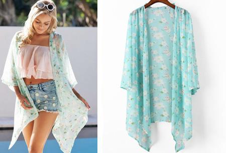 Kimono's in 9 mooie prints nu al vanaf slechts €9,95   Het ideale zomervest! #2 madelief