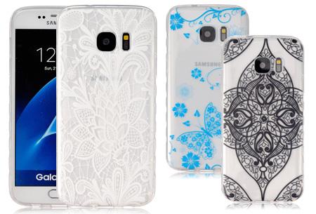 Flexibele Bohemian smartphone case nu voor slechts €4,95!