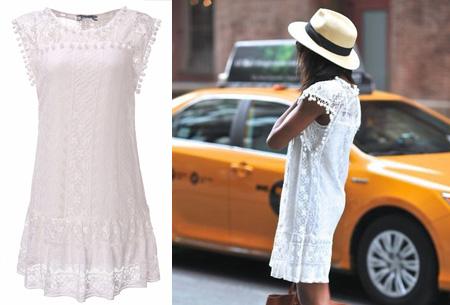 Pompon Lace tuniek | Voor een stijlvolle bohemian look