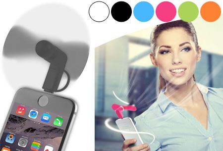 Smartphone ventilator
