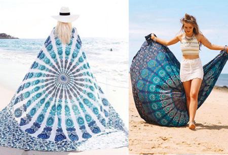 Grote picknick- en strandkleden nu slechts €14,95